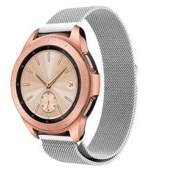 Bransoleta Tech-Protect Milaneseband Silver Samsung Watch 46 MM - srebrny