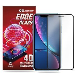 CRONG EDGE GLASS 4D FULL GLUE - SZKŁO HARTOWANE NA CAŁY EKRAN IPHONE 11 PRO / IPHONE XS / X