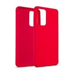 Etui Beline Silicone Samsung A21s czerwony/red