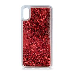 Etui LIQUID SPARKLE do Huawei Y6 2018 - czerwone