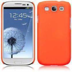 Etui Terrapin Samsung i9300 Galaxy S3 - odblaskowy pomarańczowy