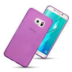 Etui Terrapin do Samsung Galaxy S6 Edge Plus żelowe różowy przeźroczysty