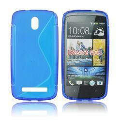 Etui silikonowe do HTC Desire 510 niebieskie