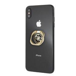 Guess Ring uchwyt złoto-czarny /gold & black 4G