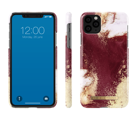 [NZ] iDeal Of Sweden - etui ochronne do iPhone 11 Pro Max (Golden Burgundy Marble)