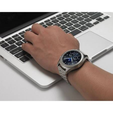 BRANSOLETA TECH-PROTECT STAINLESS SAMSUNG GALAXY WATCH 3 41MM SILVER