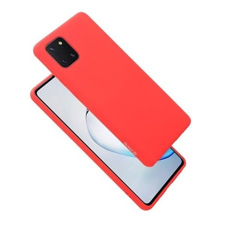 CRONG COLOR COVER - ETUI SAMSUNG GALAXY NOTE 10 LITE (CZERWONY)