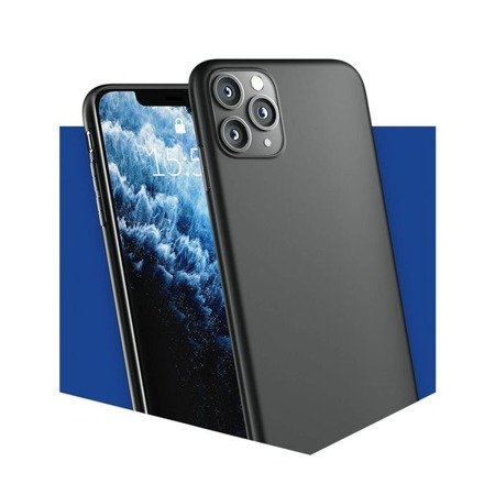 ETUI 3MK MATT CASE DO IPHONE 11 PRO, CZARNE