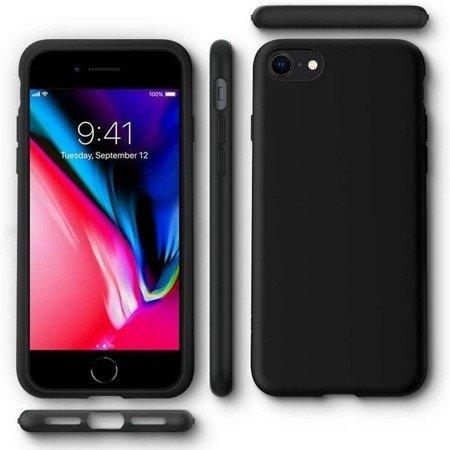 ETUI SPIGEN LIQUID CRYSTAL IPHONE 7/8/SE 2020 MATTE BLACK