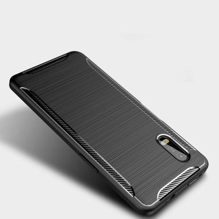 ETUI TECH-PROTECT TPUCARBON GALAXY XCOVER PRO BLACK