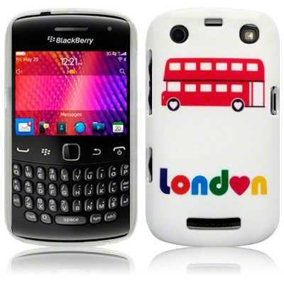 Etui Call Candy do Blackberry 9360 Curve London Bus - żelowe