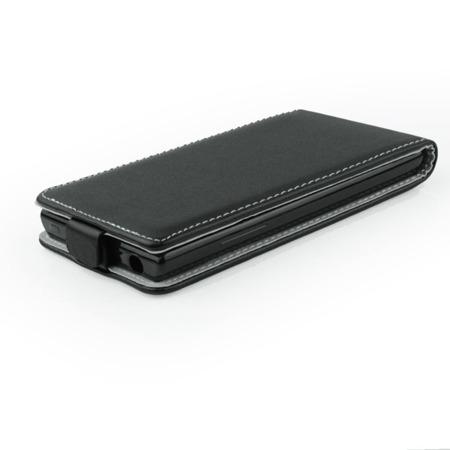 Etui Forcell do LG L80 skórzane - czarne