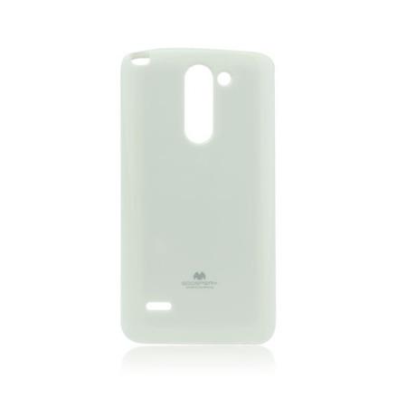 Etui Goospery Jelly Mercury do LG G3 Stylus gumowe - białe