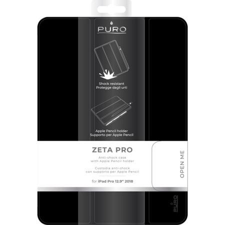 Etui PURO Booklet Zeta Pro do Apple iPad Pro 12,9 2018