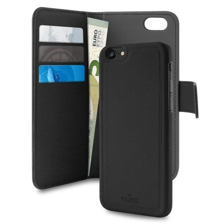 Etui PURO Wallet Detachable 2w1 do Apple iPhone 6/7/8/SE 2020