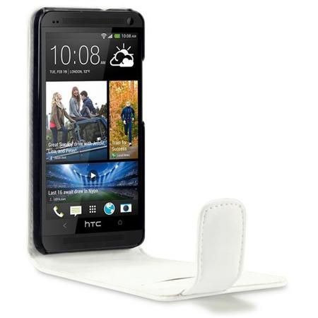 Etui Qubits HTC One M7 biały