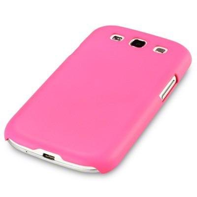 Etui Terrapin do Samsung i9300 Galaxy S3 hybrydowe - odblaskowe różowy