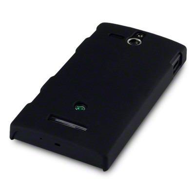 Etui Terrapin do Sony Xperia U hybrydowe -czarne