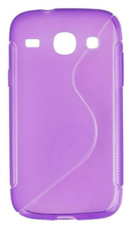 Etui do Samsung Galaxy Core I8260 fioletowy