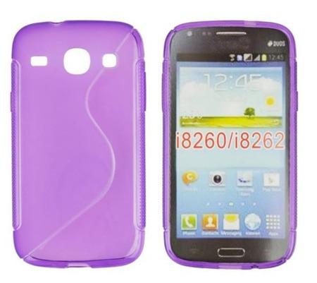 Etui do Samsung Galaxy Core I8260 fioletowy