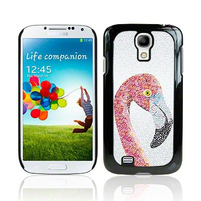 Etui plastikowe Call Candy do Samsung Galaxy S4 i9500 Animal Collection Flamingo