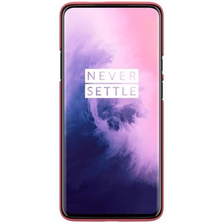 NILLKIN SUPER FROSTED SHIELD - ETUI ONEPLUS 7 PRO (BRIGHT RED)