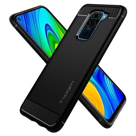 SPIGEN RUGGED ARMOR XIAOMI REDMI NOTE 9 MATTE BLACK