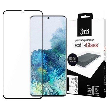 Samsung Galaxy S20+ Plus - Niepękająca hybryda na cały ekran 3mk FlexibleGlass Edge