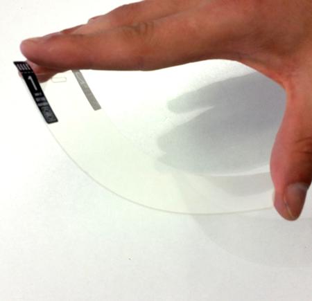 Szkło hybrydowe Flexible Glass 7H SKINK do Samsung Galaxy Note 4 Egde