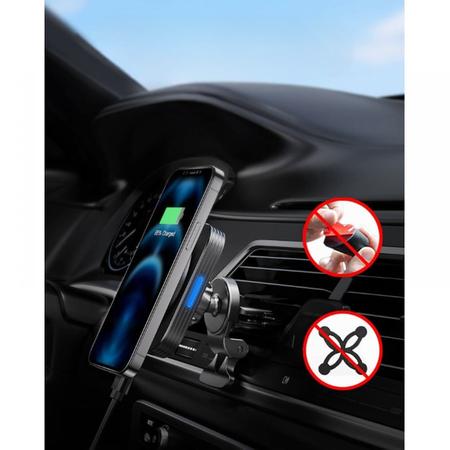 UCHWYT ESR HALOLOCK MAGNETIC MAGSAFE VENT CAR MOUNT BLACK