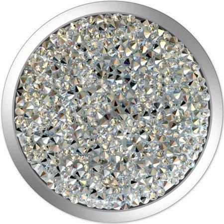 Uchwyt do selfie na telefon PopSockets - Swarovski Silver Crystal